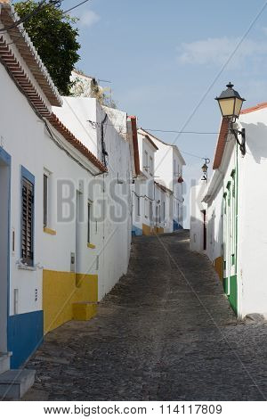 Narrow street in Mertola