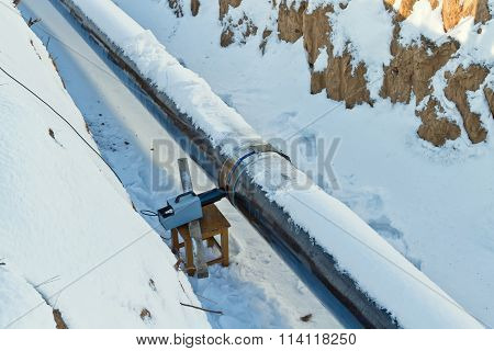 Radiography Of Welded Joints Of Pipelines In Winter Conditions