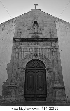 Church of Misericordia Facade in Tavira