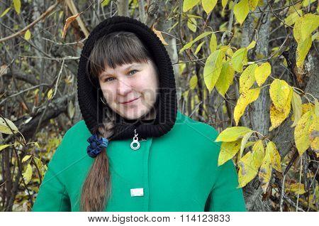 Woman Outdoor Closeup