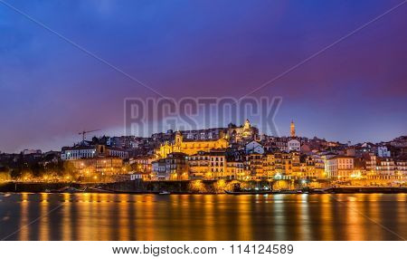 Douro river in Porto Portugal