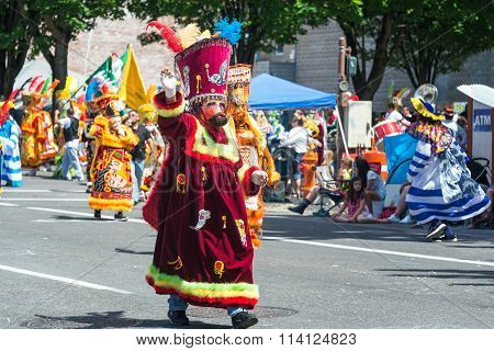 Colorful Parade Costume