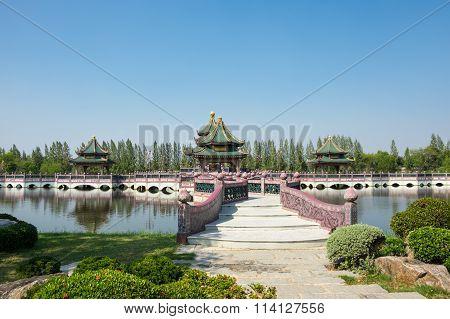 Pavilions In Mueang Boran
