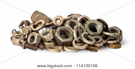 Pile Of Old Fasteners