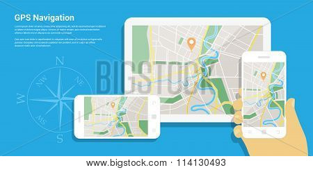 Gps Navigation Map