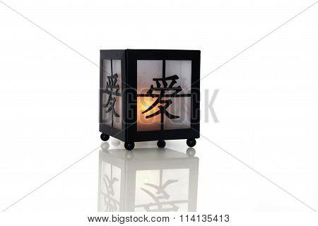 Iron Candle Lamp