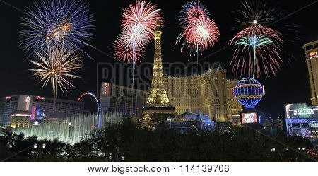 A Celebration At Bellagio And Las Vegas Blvd
