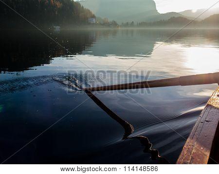 Submerged paddle