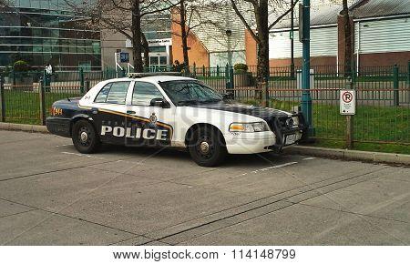 Transit Police Car