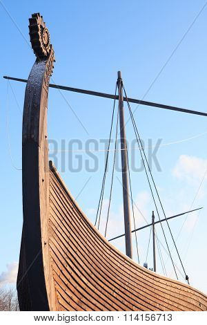 Old Viking Ship