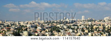 Modern Jerusalem Panoramic View