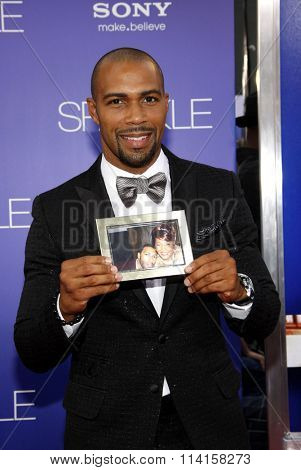 LOS ANGELES, CALIFORNIA - August 16, 2012. Omari Hardwick at the Los Angeles premiere of 'Sparkle' held at the Grauman's Chinese Theatre, Los Angeles.