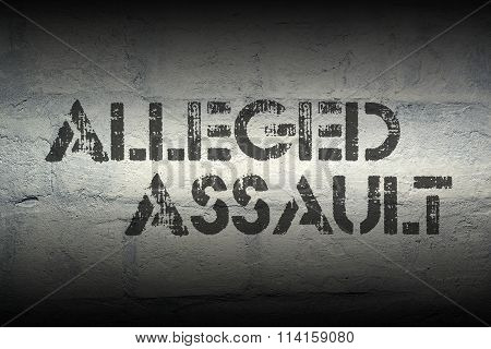 Alleged Assault Gr