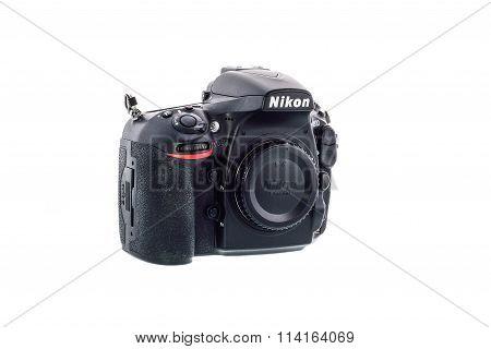 SYDNEY AUSTRALIA - JANUARY 13 2016 : Nikon D810 camera body
