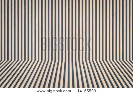 Brown corrugated metal background and texture surface