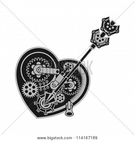 Mechanical Heart Valentine
