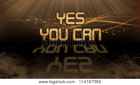 Gold Quote - Yes You Can