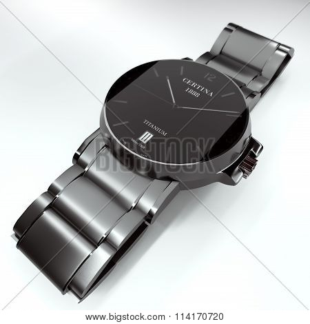 wristwatch certina ds