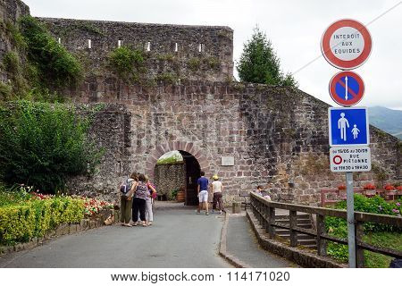 Wall Of Old Town