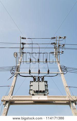 Electric Transformer.
