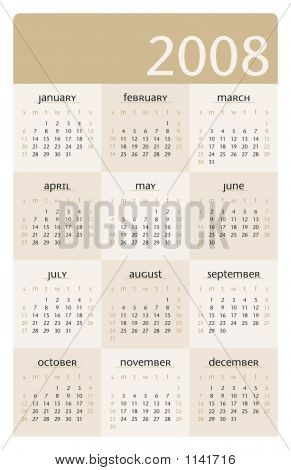 2008 Planner Calendar