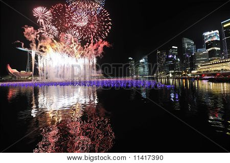 Marina Bay Singapore Countdown 2010