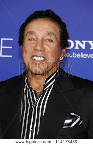 Smokey Robinson at the Los Angeles premiere of