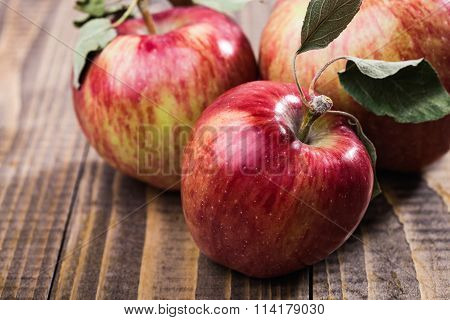 Closeup Photo Of Apples
