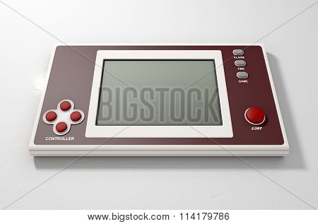 Vintage Handheld Video Game