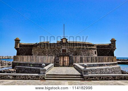 Castillo de San Juan Bautista - Castle of John Baptist, Santa Cruz de Tenerife