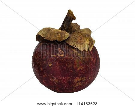 Mangosteen isolated