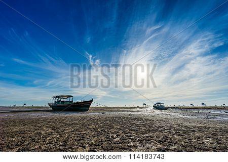 Beach on Dong Chau, Thai Binh, Viet Nam