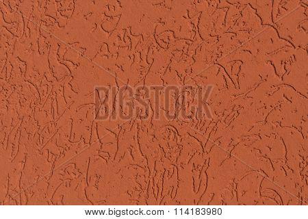 Orange Wall Texture.