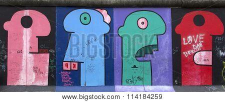Berlin Wall.