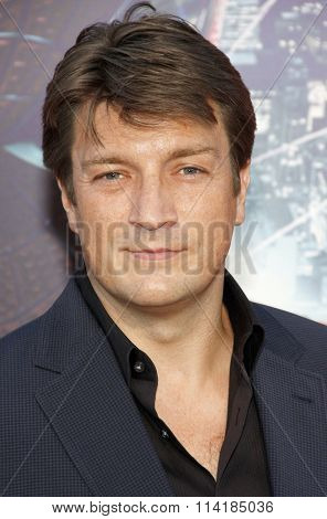 LOS ANGELES, CALIFORNIA - June 28, 2012. Nathan Fillion at the Los Angeles premiere of
