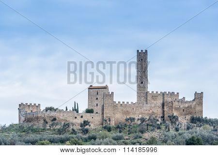 The Castle Of Montecchio Vesponi