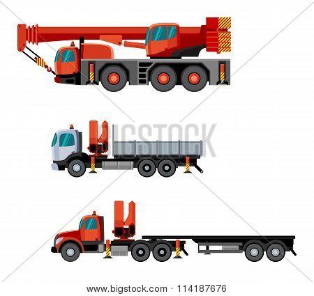 Crane Truck Set