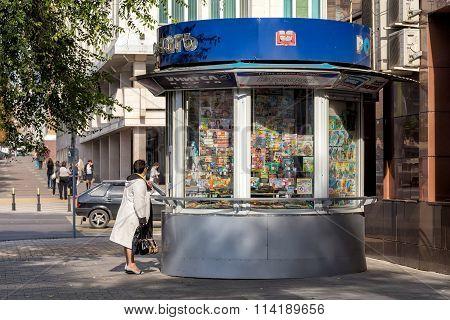 Newsstand. Belgorod. Russia
