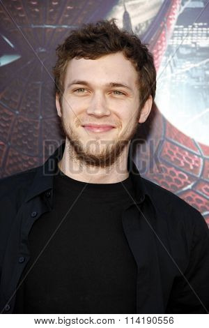 Phillip Phillips at the Los Angeles premiere of