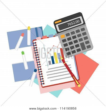 Concepts for business analysis, consulting,  and financial audit.