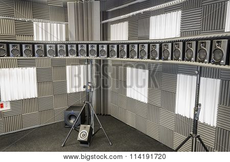 64 Loudspeakers Circular Array.