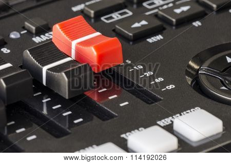 Buttons Control Sound Mixer.