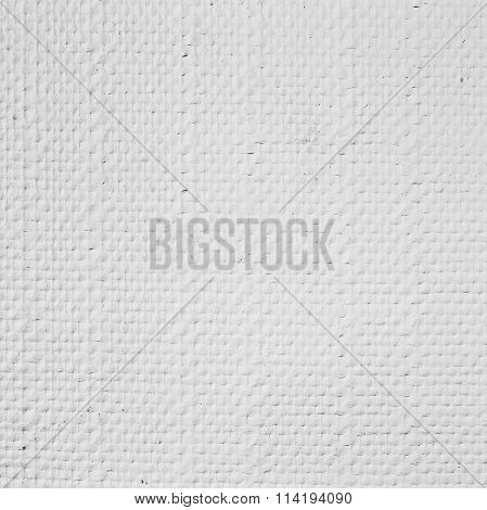 White Embossed Wallpaper, Closeup Photo Texture