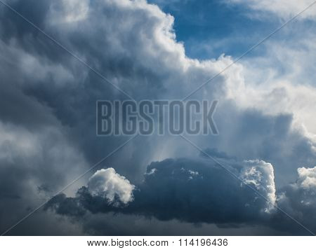 Thunderstorm clouds 1