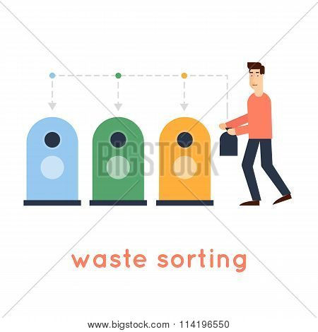 Sorting garbage