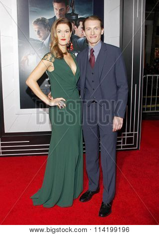 James Hebert at the Los Angeles premiere of