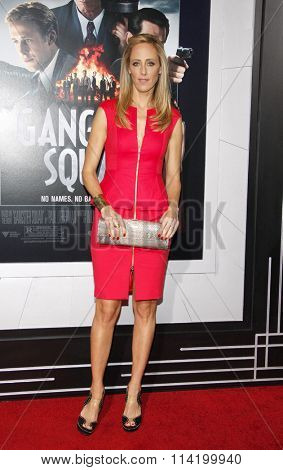 LOS ANGELES, CALIFORNIA - January 7, 2013. Kim Raver at the Los Angeles premiere of 'Gangster Squad' held at the Grauman's Chinese Theatre in Los Angeles.