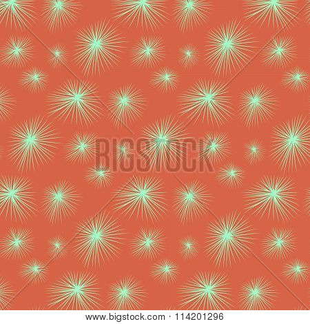green stars snowflakes background texture