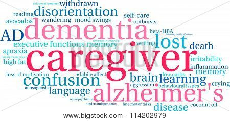 Caregiver Word Cloud