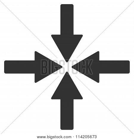 Collide Arrows Icon